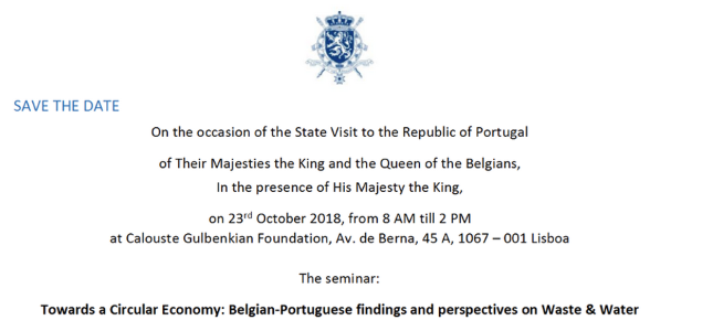 Towards a Circular Economy : Belgian-Portuguese findings and perspectives on Waste & Water